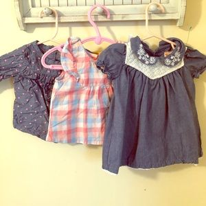 3-6 month Laura Ashley and carters baby clothes